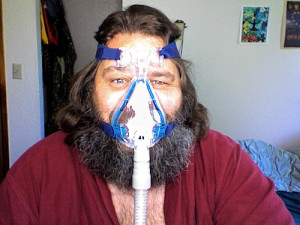 cpap mask for beard or mustache