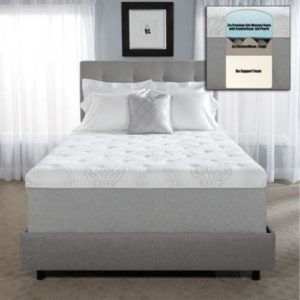 Novaform 14″ Serafina Pearl Gel Queen Memory Foam Mattress